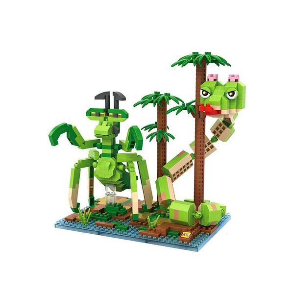 LOZ Kung Fu Panda Mantis Viper