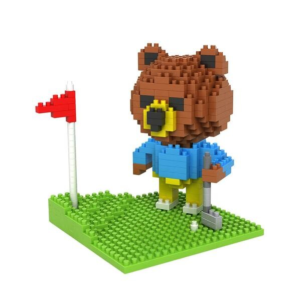 LOZ Bear Golfing
