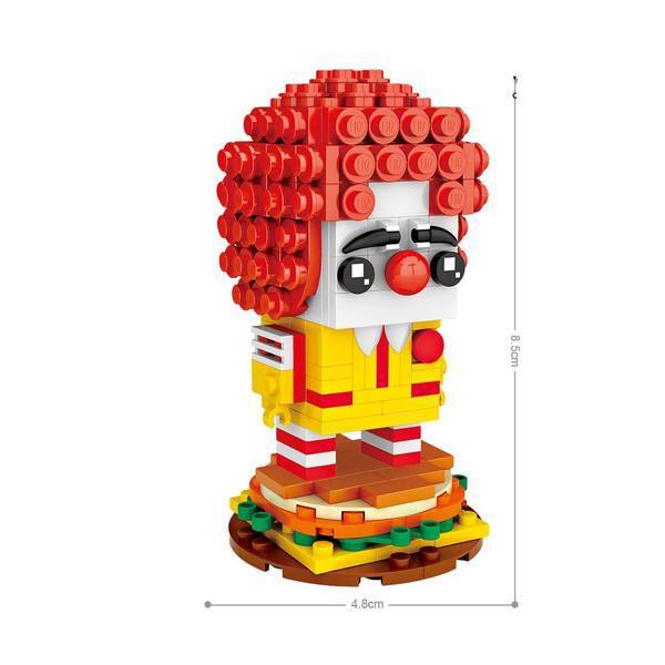 LOZ Brickheadz Ronald McDonald