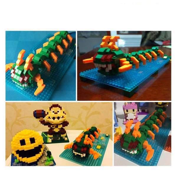 LOZ Pixels Centipede