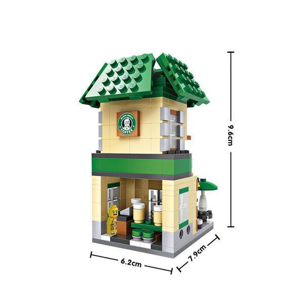 LOZ Mini Street Starbucks