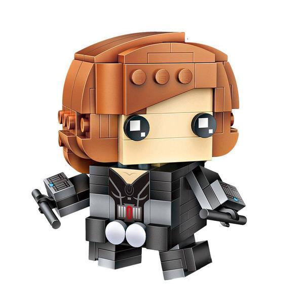 LOZ Brickheadz Black Widow