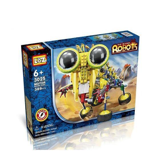 LOZ 4-Eyed Robot Yellow Mantis