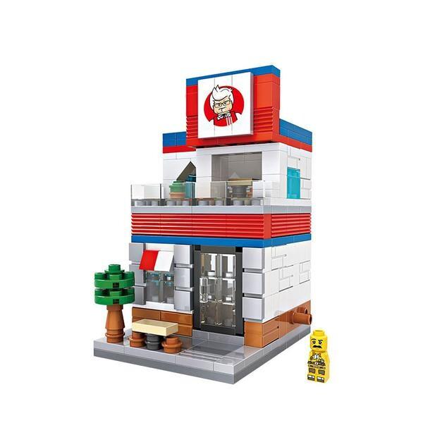 LOZ Mini Street KFC Restaurant
