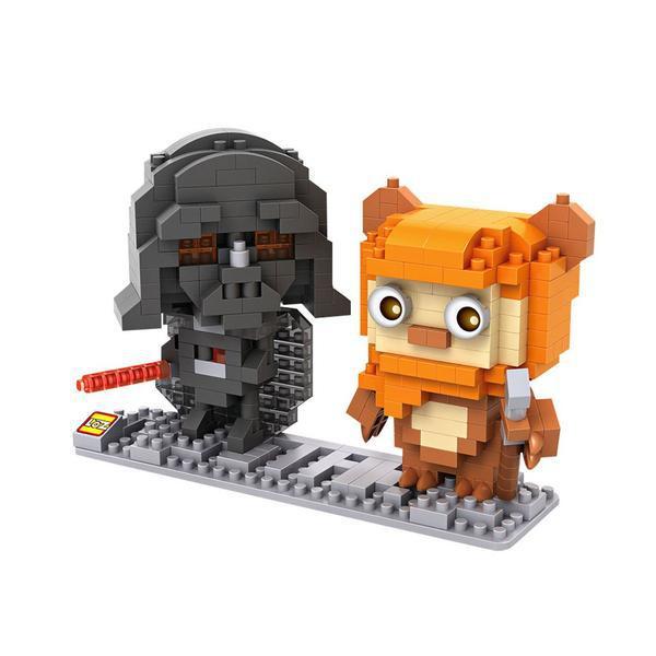 LOZ Star Wars Darth Vader and Ewok