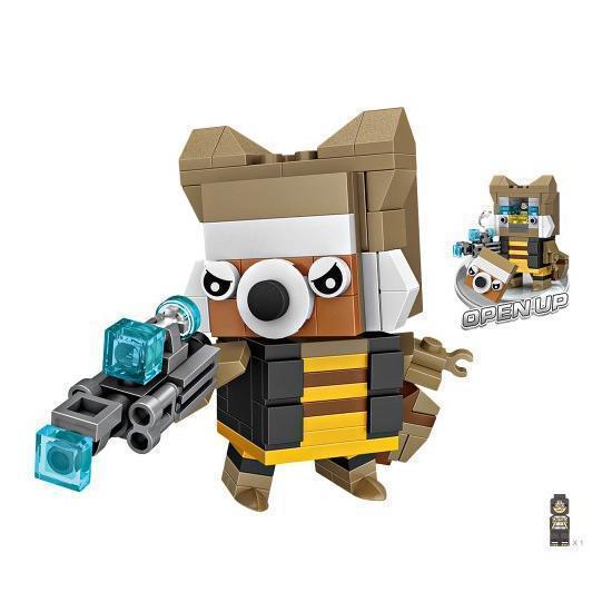 LOZ Brickheadz Rocket Raccoon