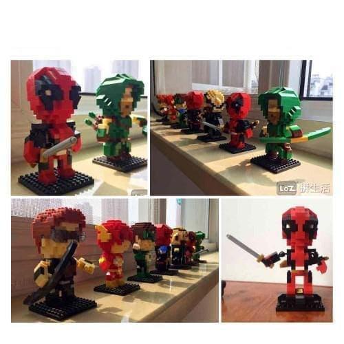 LOZ Superhero Deadpool
