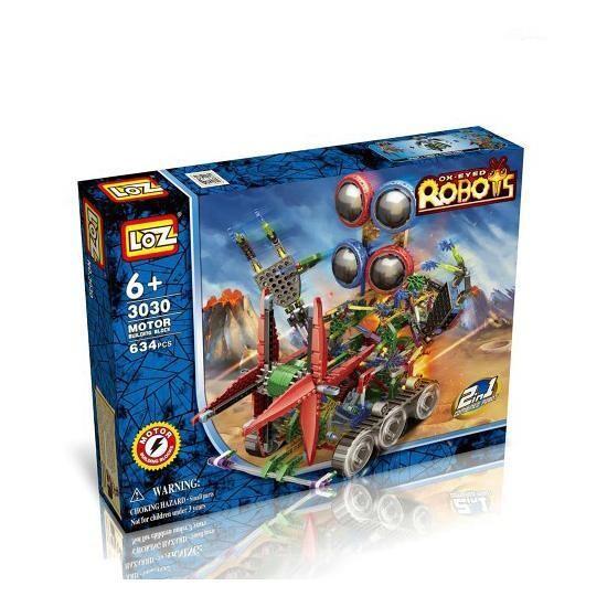 LOZ Big 4-Eyed Robot Bundle
