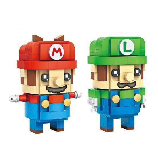 LOZ Brickheadz Super Mario and Luigi