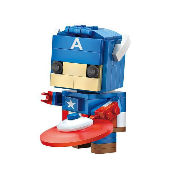 LOZ Brickheadz Avenger Captain America