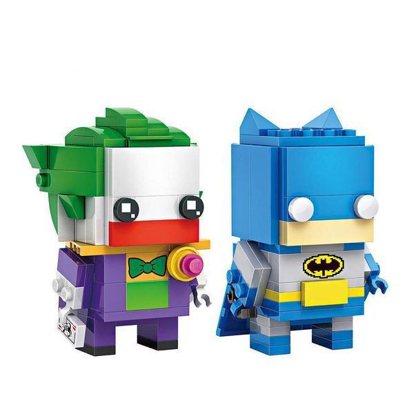 LOZ Brickheadz Joker and Batman