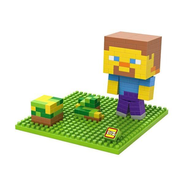 LOZ Minecraft Yellow Head