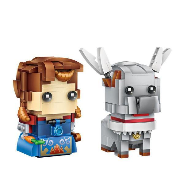 LOZ Brickheadz Anna and Sven
