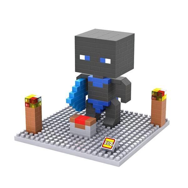 LOZ Minecraft Black Head