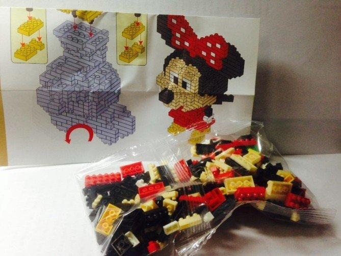 Review LOZ Diamond Blocks Model 9414-Mickey Mouse-2