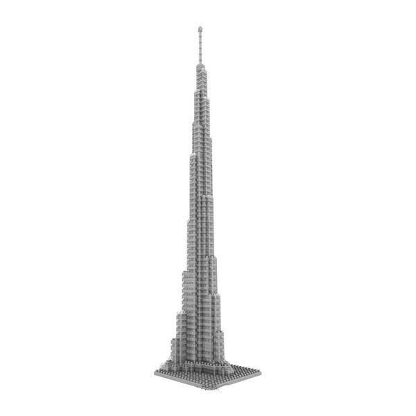LOZ Architecture Diamond Blocks burj khalifa tower