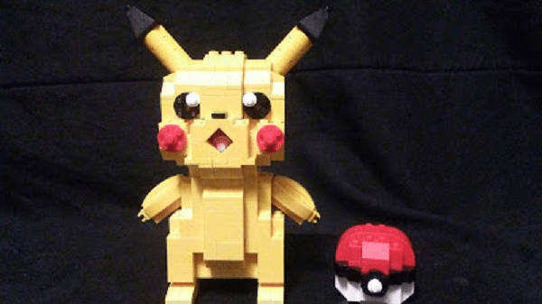 pikachu and pokeball 1