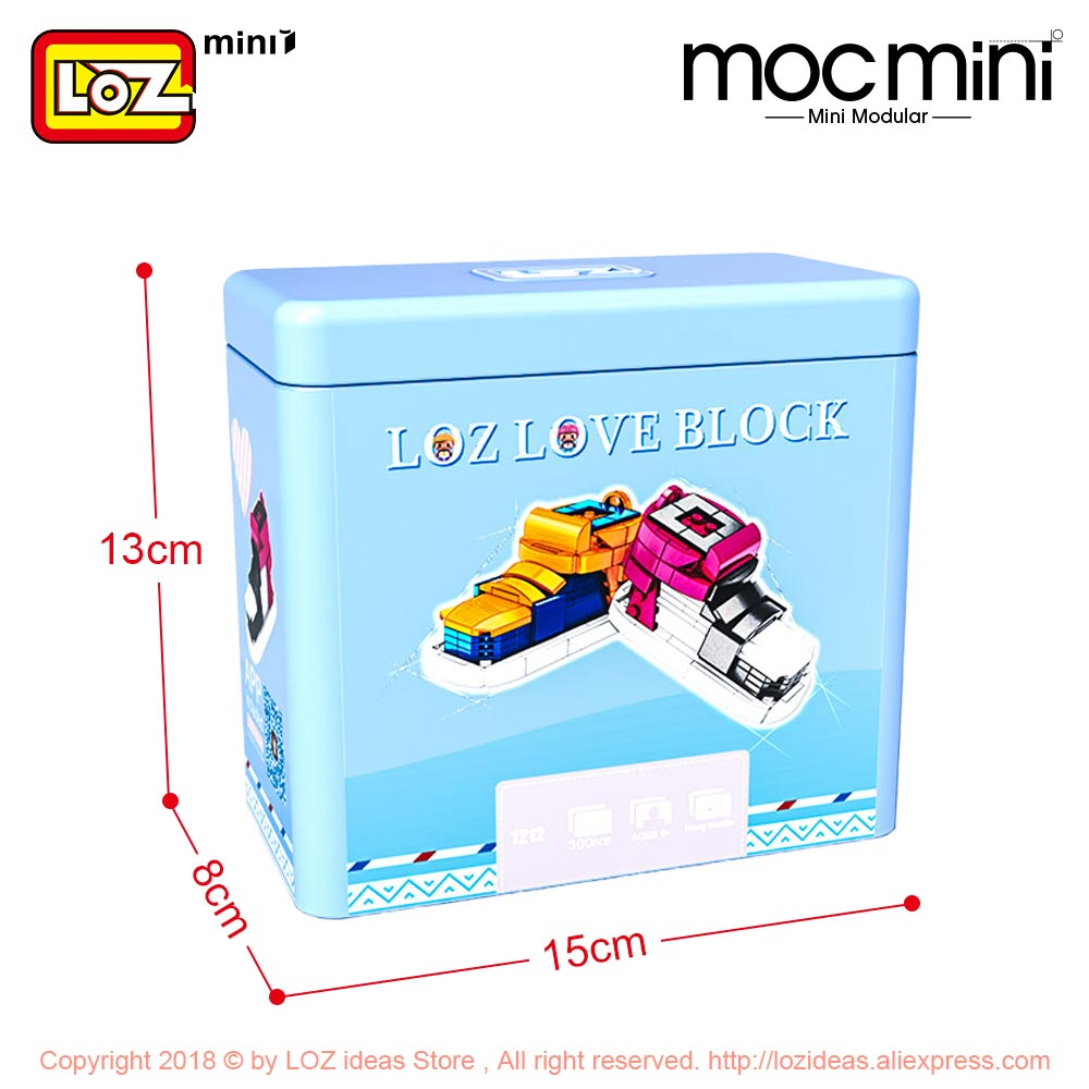 LOZ Mini Blocks Sports Shoes