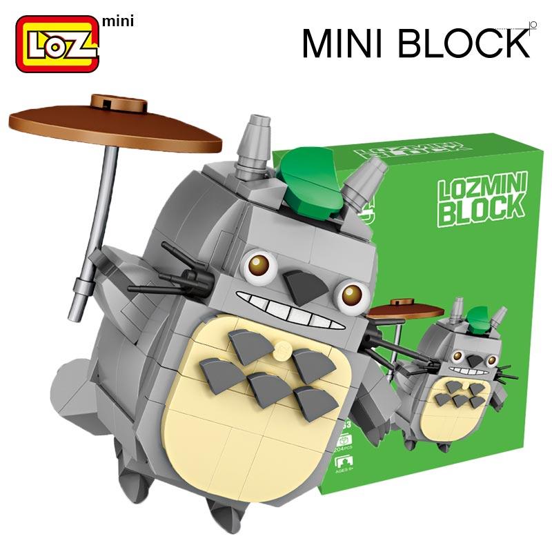 LOZ Mini Blocks Totoro and Disney Character