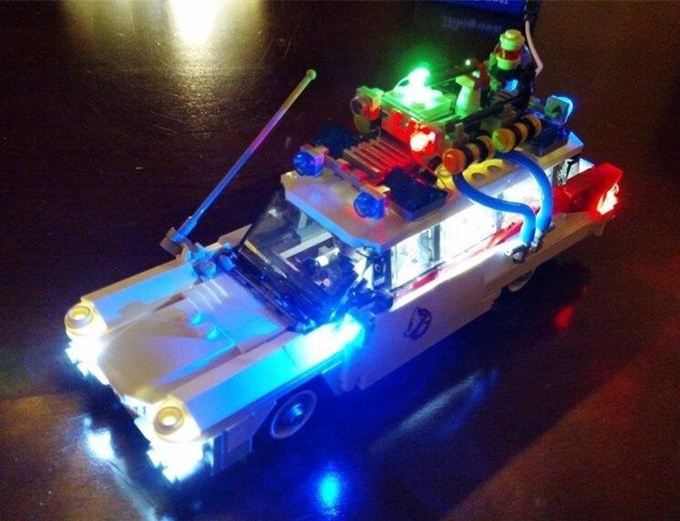 Basic Version LED Light Kit For LEGO 21108 Ghostbusters Ecto-1 (Only Light Set)Kits
