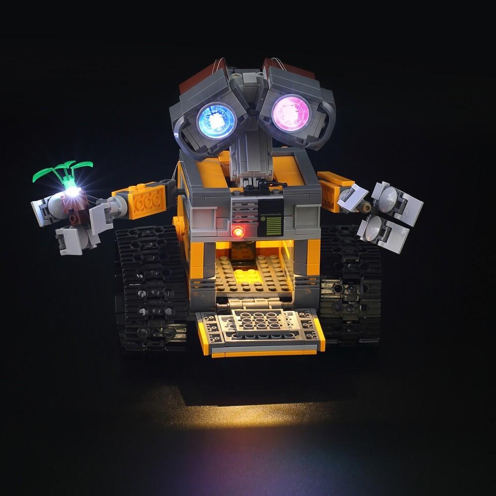 Basic Version LED Light Kit For LEGO 21303 and 16003 Idea Robot WALL E (Only Light Set)Kits