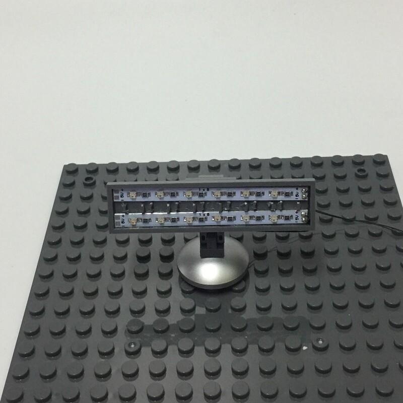 Basic Version LED Street Light /SpotLight/Traffic Light For LEGO and LEPIN city series (Only Light Set)Kits