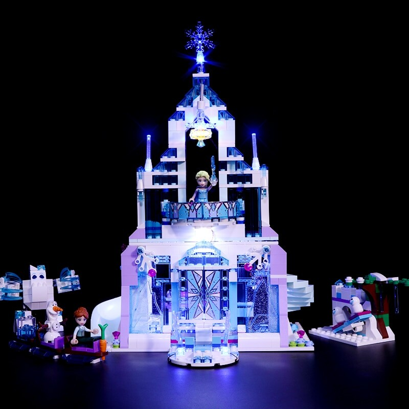 Luxury VersionLED Light Set For LEGO 41148 Aira's Airship & the Amulet Chase Compatible LEPIN 25002 (LED Light)Kits