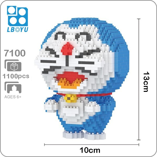 Balody 7100 Large Blue Doraemon