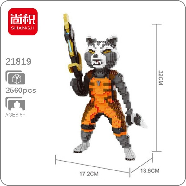 Balody 21819 Avengers Rocket Raccoon XL