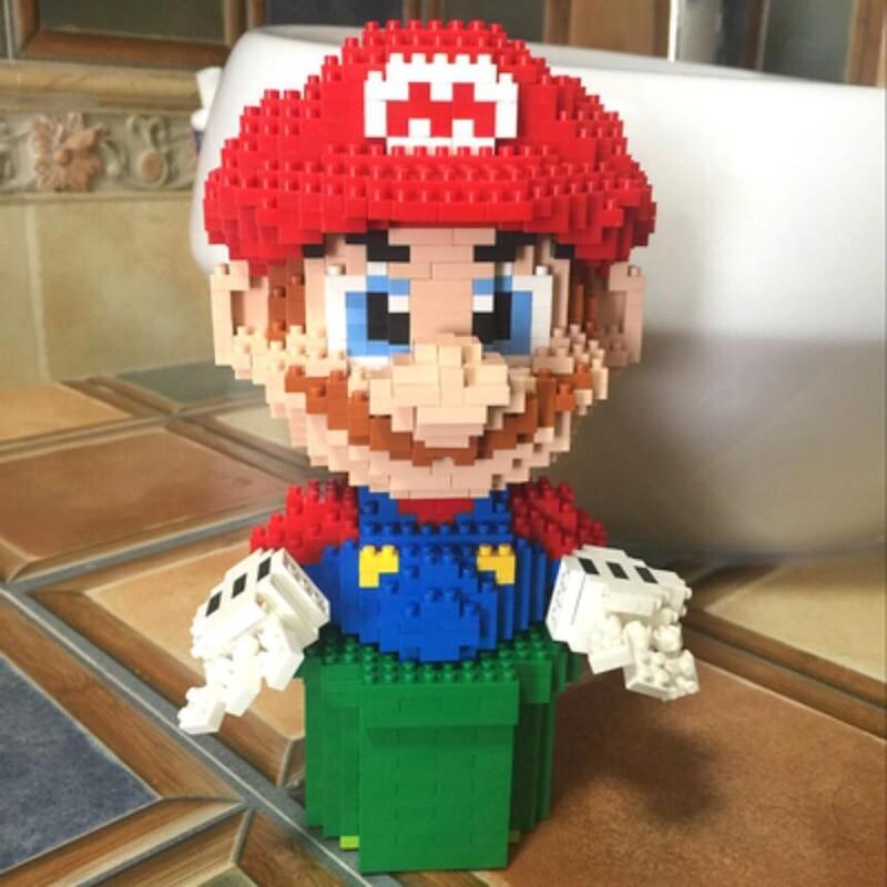 Balody 7005 Large Red Super Mario Plumber
