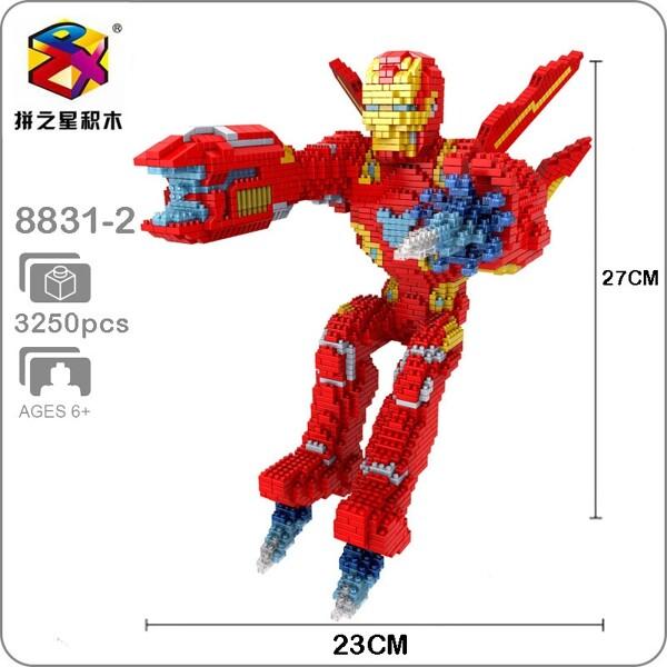 Balody 8831-2 Avengers Flying Iron Man XL
