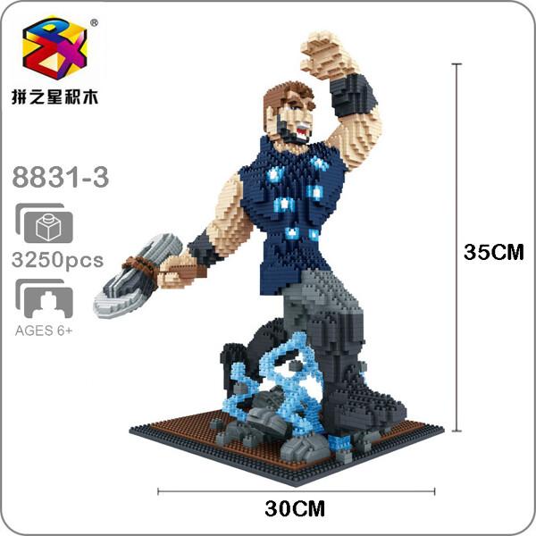 Balody 8831-3 Avengers Thor X Size