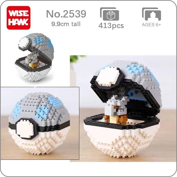 Balody 2539 Medium Pocket Cubone Monster Heavy Ball
