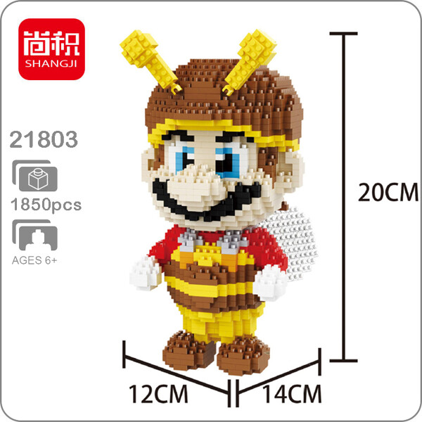 Balody 21803 Super Mario Bee XL