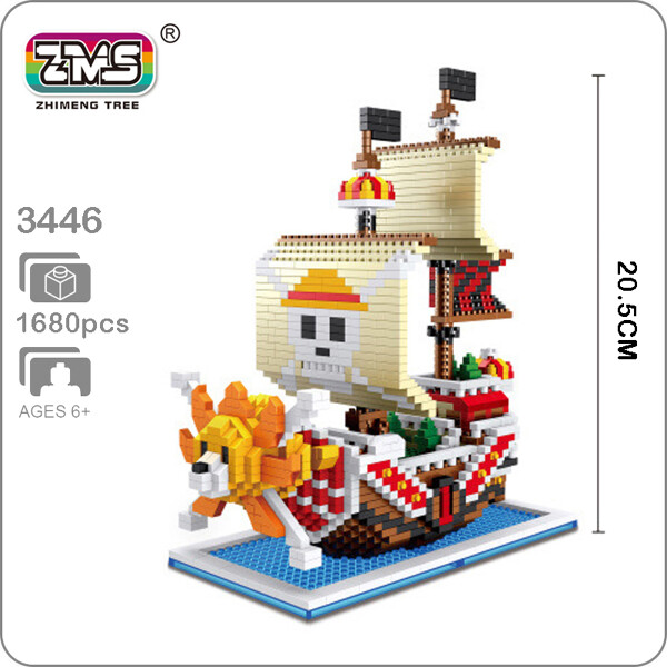 ZMS 3446 Large One Piece Thousand Sunny Ship