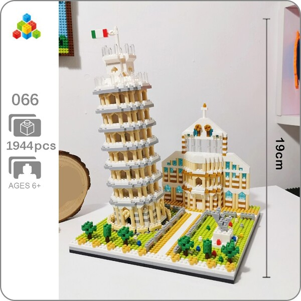 YZ 066 Large Leaning Tower of Pisa
