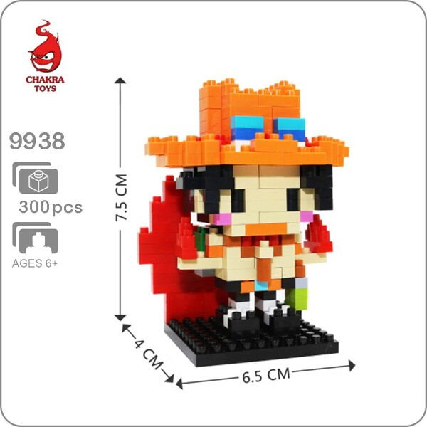 CHAKRA 9938 Mini One Piece Portgas D. Ace