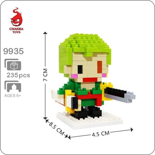 CHAKRA9935 Mini One Piece Roronoa Zoro