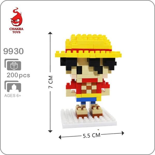 CHAKRA 9930 Mini One Piece Monkey D. Luffy