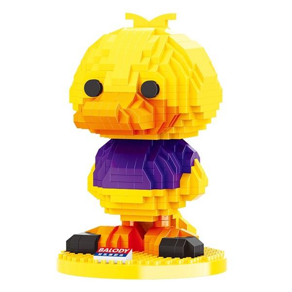 Balody 18094 Yellow Duck Cartoon Character Mini Bricks