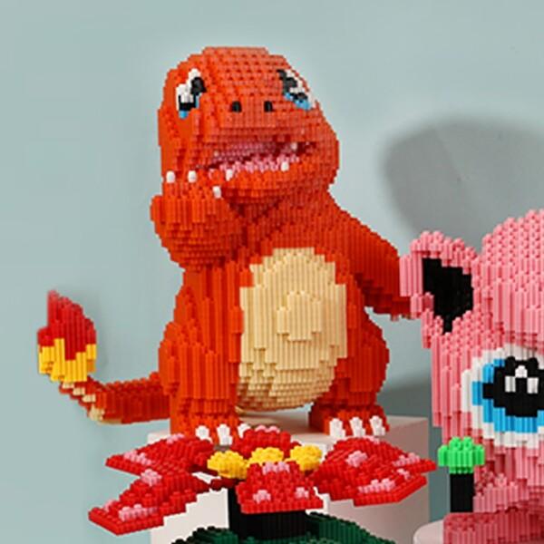 DUZ 8667 Charmander Pocket Monster Mini Bricks