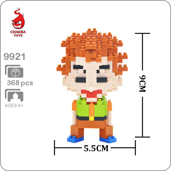 CHAKRA 9921 Brock Figure Pocket Monster Mini Bricks