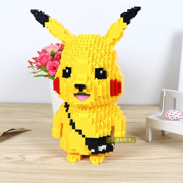 HC 9046 Pikachu Pocket Monster Mini Bricks