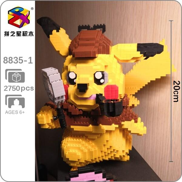 BS 8835-1 Detective Pikachu Mini Bricks