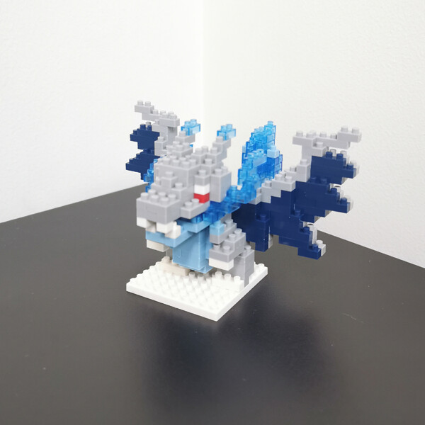 LNO 288 289 290 291 Bird Pocket Monster Series Bundle Mini Bricks