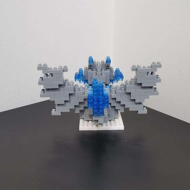 LNO 288 289 290 291 Bird Pocket Monster Series Bundle Mini Bricks