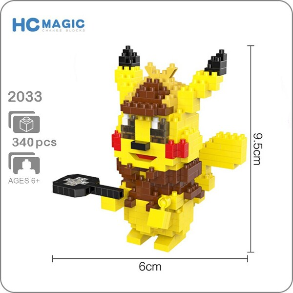 HC 2033 Detective Pikachu Mini Bricks