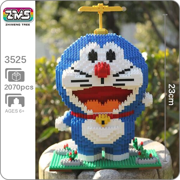 ZMS 3525 Doraemon Hopter Mini Bricks
