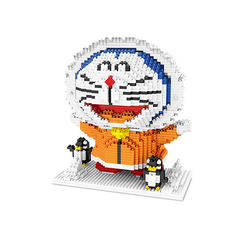 ZMS 3524 Doraemon Winter Snow Mini Bricks