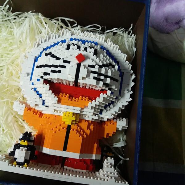 ZMS 3524 Doraemon Winter Snow Mini Bricks